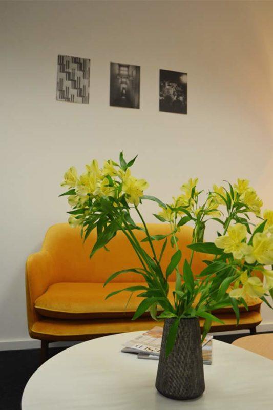 bouquet salle d attente office notarial