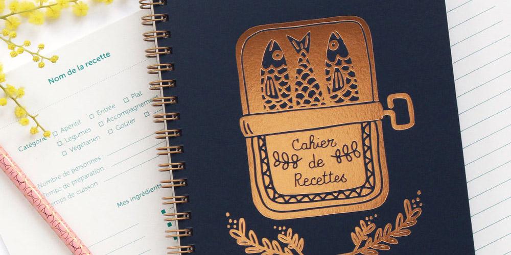 cahier de recette pour cadeau de noel