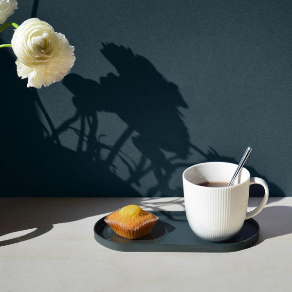vide poche gris mise en situation coupelle café gourmand