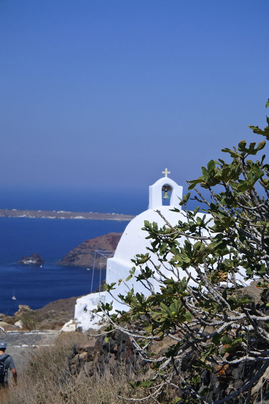 Une église à Santorin