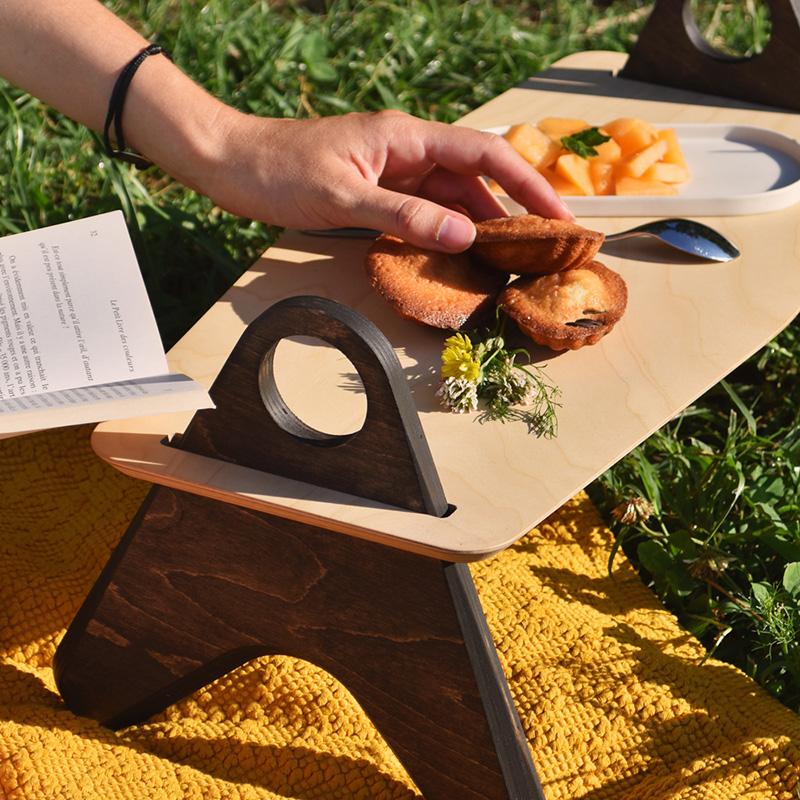 table de pique-nique mezze au parc olbius riquier à hyères